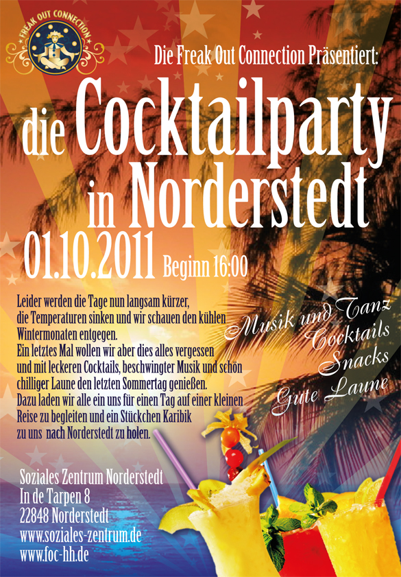 Cocktailparty Soziales Zentrum Norderstedt