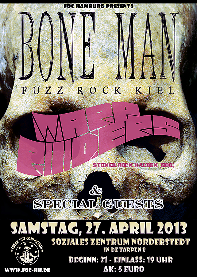 Warp Riders, Bone Man, Chäirwalk, Deadbeat Mary im SZ